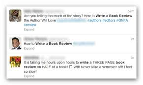 how to write a book report tweet about book review png