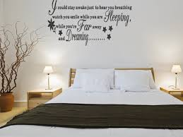 Small Picture bedroom decor Magical Dream Wall Sticker For Bedroom Quotes Wall