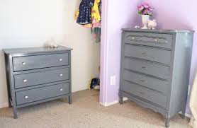 modern painted furniture. Gorgeous Gray Painted Furniture For Home Interior Decoration : Casual 3 Drawer Narrow Modern