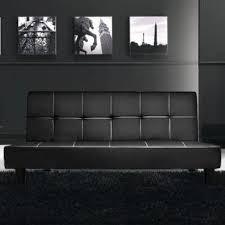 modern sofa bed federica model bblack
