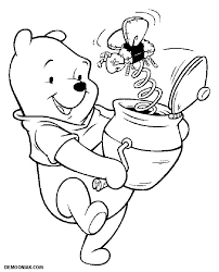 Winnie 3 Coloriage Winnie L Ourson Et Ses Amis Coloriages Pour