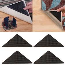 washable reusable rug grips 8 x carpet mat grippers non slip anti skid asot