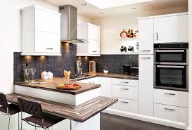 fitted kitchens ideas. Delighful Ideas White Cosy Home Fitted Kitchen Design Ideas To Kitchens F