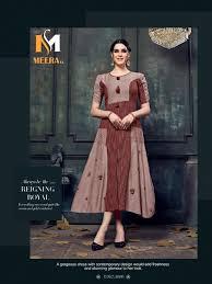 Wholesale Designer Clothes Online Meerali Woman Catalogue Designer Party Wear Kurtis Wholesale