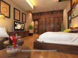 Stunning 3D modern bungalow bed room interior renderings design by 3D Power  on Architizer