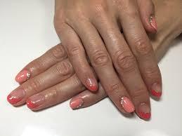 人気色を2色使い 葛飾のジェルネイル専門店 コスメティックサロン青砥