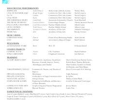Resume Special Skills Full Size Of Acting Resume Special Skills List