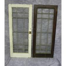 antique cabinet doors. antique pair of leaded glass cabinet doors t