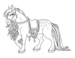 Cut out the shape and use it for coloring, crafts, stencils, and more. 102 Horse Coloring Pages For Kids Adults Free Printables