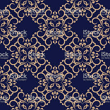 dark blue pattern wallpaper. Brilliant Dark Seamless Dark Blue Pattern With Golden Wallpaper Ornaments Royaltyfree  Seamless And Dark Blue Pattern Wallpaper