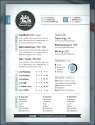 Resume Modern Template Free Download Cool Resume Templates Free Download Professional Resume Design
