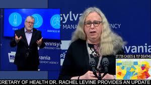 Secretary of Health Dr. Rachel Levine ...