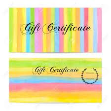 gift certificate voucher coupon gift money bonus gift card gift certificate voucher coupon gift money bonus gift card template colorful