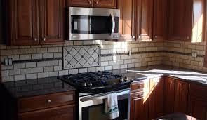 winsome mosaic backsplash 17 rooster medallion close up metal and travertine kitchen linda paul studio 1000