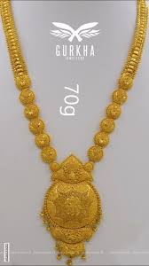 Engagement Gold Necklace Designs Pin By Sadaf Naik On Gold Jewelry Gold Jewellery Design
