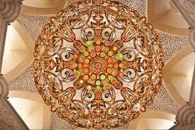 uae abu dhabi sheik zayed grand mosque chandelier