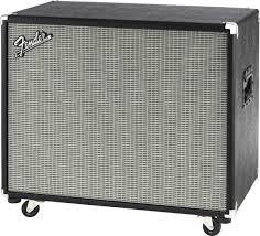 1x15 Guitar Cabinet Fender Bassman 115 Neo Bass Speaker Cabinet 350 Watts 1x15