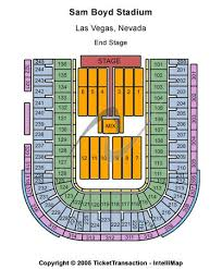 Sam Boyd Stadium Virtual Seating Chart Boyd Stadium Seating Chart Cheap Sam Boyd Stadium Tickets