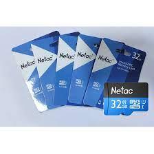 COMBO 5 THẺ NHỚ MICRO SD NETAC 32GB - HÀNG CHÍNH HÃNG - Thẻ nhớ điện thoại  Thương hiệu Netac