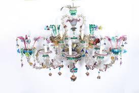 antique venetian glass 14 branch murano chandelier c 1850 ref no 07439