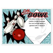 Bowling Party Invitation Retro Bowling Party Invitations Invitations Cards On Pingg Com