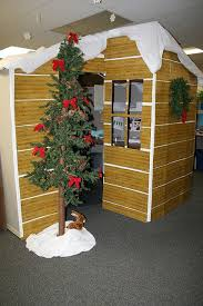 15 office christmas decorating