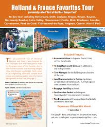Holland France Favorites Tour Itinerary Detail Image Tours