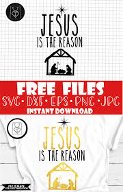 This design includes multiple art with all these svg files, and my easy homemade christmas ornament tutorial, you are set to make piles of fun projects! Pin On Jesus Is The Reason For The Season Svg Free