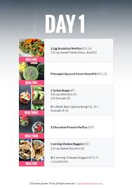 30 Day Healthy Eating Plan 30 Day Challenge Meal Plan