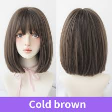7jhh wigs bobo blue wig short curly