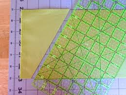 Cutting Triangles using your ruler! - The Sassy Quilter &  Adamdwight.com