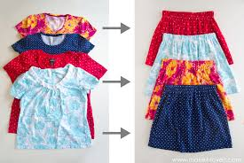 turn shirts into kids clothes 5 ways