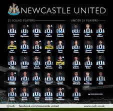 Newcastle united celebrated their first premier league win in 10 games and lifted some pressure off. Newcastle United Fc On Twitter Squad Newcastle United Confirm Premierleague Squad Http T Co 7przukeifd Nufc Http T Co Efg4ezpvh4