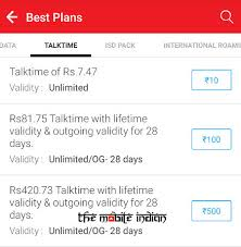 Airtel Reintroduces Rs 100 Rs 500 Prepaid Recharges