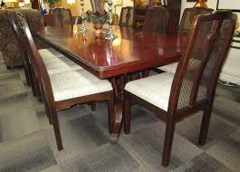 hickory furniture dining room. 1-22910 hickory white table with 8 drexel chairs is sold! furniture dining room