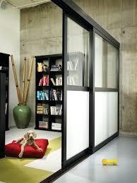 room dividers with door sliding closet doors wall divider inexpensive interior