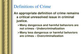 Criminal Justice Definition Ppt Basic Criminal Law Powerpoint Presentation Id 1427725