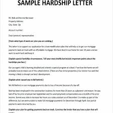 hardship sample letter hardship letter for loan modification sample business