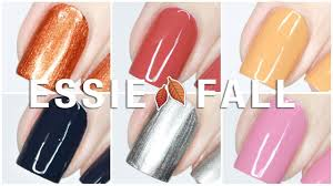 Nyc Nail Polish Color Chart Essie Fall For Nyc Fall 2018 Collection Live Swatches Review