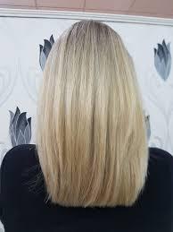 Blond účesy 2019 Salón Pink