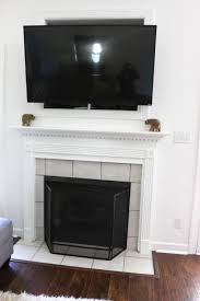 for the tv nook i wanted to remove the trim and drywall the top part of it it was originally built for those old square clunker tvs over a decade ago