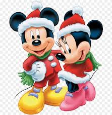 Mickey Mouse Christmas Background