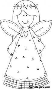 Small Picture Print out Christmas smile face angel coloring pages Printable