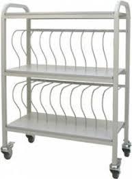 Chart Ringbinder Cart 20 Space Rack 2 Binders Chart Pro