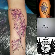 Tetování Kytka Z Hlavy Tetování Tattoo