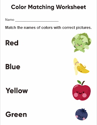 Fall worksheets for preschool (free printable!) family theme preschool and family worksheets for kindergarten. 7 Best Free Printable Preschool Worksheets Colors Printablee Com