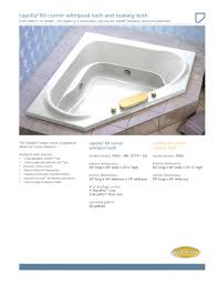 impressive jacuzzi whirlpool bath manual for your home design
