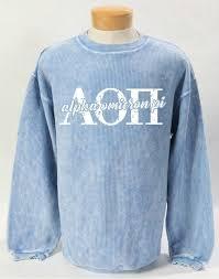 Alpha Omicron Pi Corded Sweatshirt