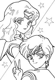Small Picture Sailor Pluto Coloring Pages Coloring Pages