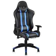 costway racing high back reclining gaming chair ergonomic computer desk office chair 0